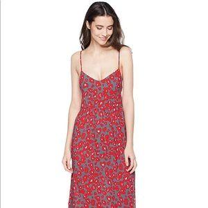 Dresses & Skirts - NWOT Leopard Print XS Maxi Dress SFH